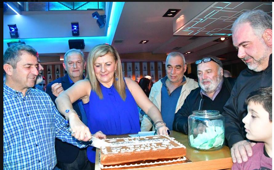 Έκοψε την πίτα ο «Φάρος» στα Χανιά (photos)