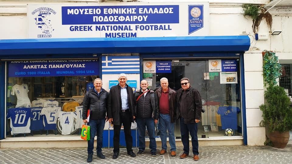 Στο Μουσείο της Εθνικής ο Γιαννάκης!